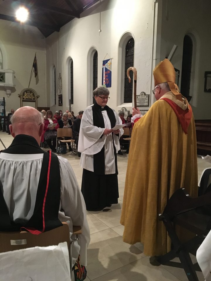 Reverend Glynn's Licensing and Installation